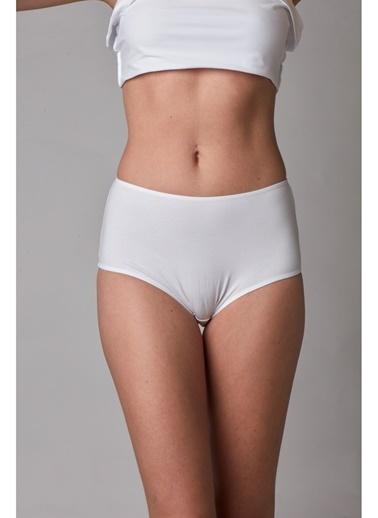 Miss Claire Bikini Alt Beyaz